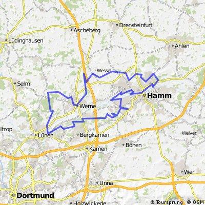 CTF Helinet-Lippeparktour Marathon 02.08.14