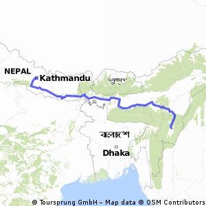 Kathmandu - Imphal