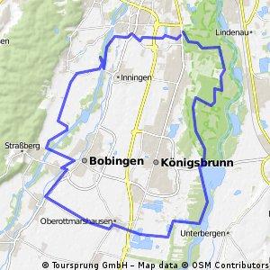 Rund um Königsbrunn bei Augsburg