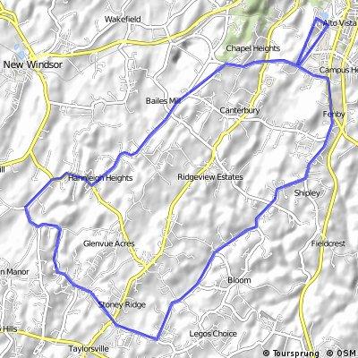 20-mile Peach route