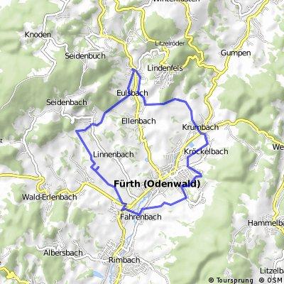 Fürth-Erlenbach-Schlierbach-Krumbach-Rundweg