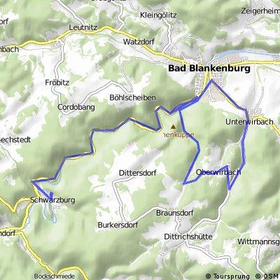 Schwarzburg-Bad Blankenburg- Oberwirbach-Schwarzburg