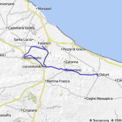 Itinerario 29/07/14 iFichi team