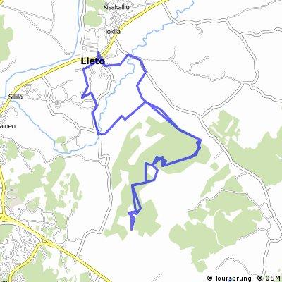 Lieto - Ukura, paths mapping