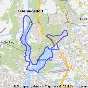 Eine der schönsten Fahrradtouren Berlins! CLONED FROM ROUTE 181602