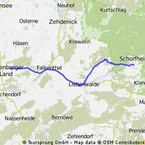 Groß-Schoenebeck - Liebenthal - Loewenberg