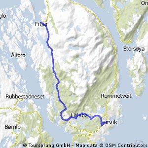 Leirvik til Fitjar