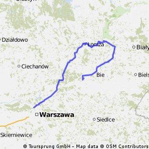 Warszawa - Małkinia Górna 2014