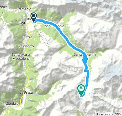 BORMIO-GAVIA: Saturday ride with Stelvio Experience