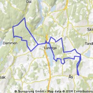 Terrengflyt - Ås-vest