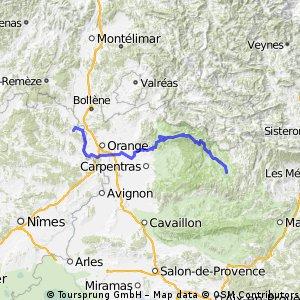 DAG 4 Vénéjan - 122km