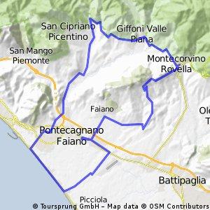 Pontecagnano-Giffoni sei Casali-Montecorvino