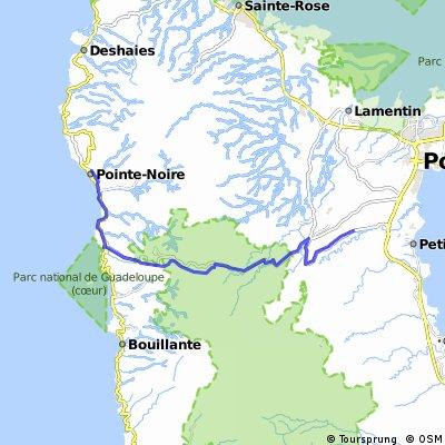 Glp Inselquerung Petit-Bourg nach Point-Noire