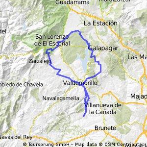 Quijorna-Valdemorillo-San Lorenzo-Aulencia-Quijorna