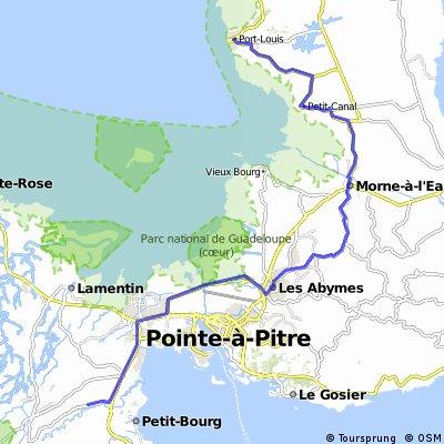 Glp Port-Luis nach Petit-Bourg