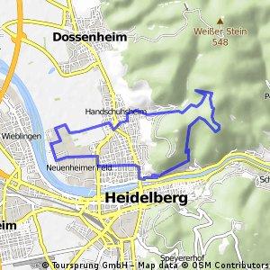 Heidenknörzel - Philosophenweg