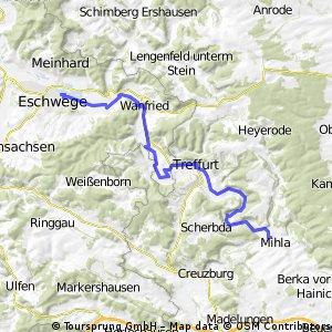 20Eschwege - Wichmannshausen - Mihla - Eschwege / Teil 2