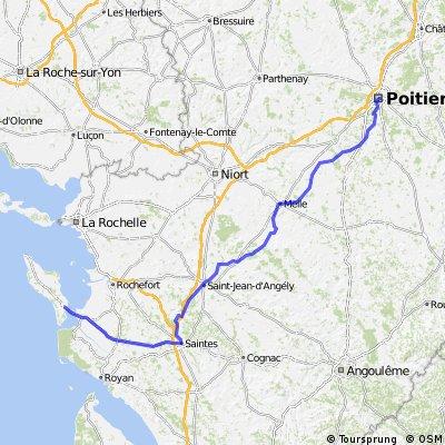Poitiers-Ile d'Oléron