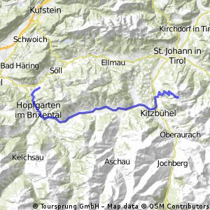 Itter - Kitzbüheler Horn (via Kirchberg)