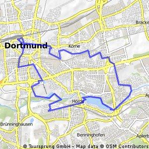 Dortmund HBfEmscherWesterfildeHuckardeHBf Bikemap Your bike