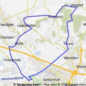Rundweg um Watenbüttel
