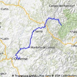 20ª Etapa Santo Estevo de Ribas de Sil , Puerto de Ancares 185,7 km