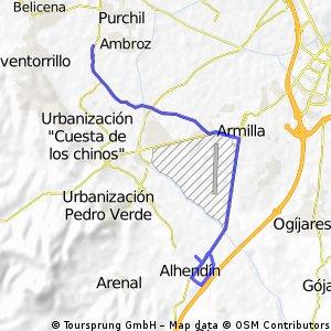 7ª Etapa Ahendin, Neutralizado 11,6 km