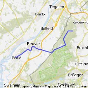 """Tag 1: Weiterfahrt von """"Galgenvenn"""" nach Beesel"""