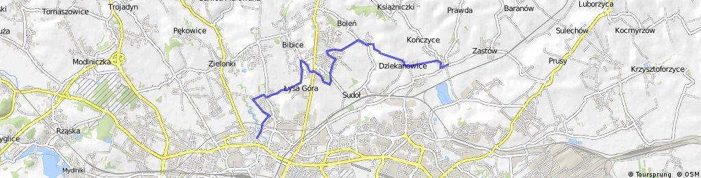 Kraków-Bibice-Węgrzce- Raciborowice