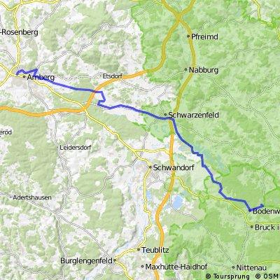2009/08/16 von Amberg zum Hammersee (Oberpf. Seenland)