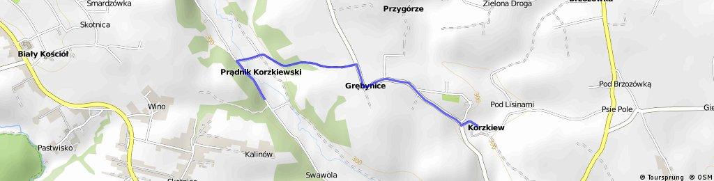 Korzkiew - Prądnik Korzkiewski