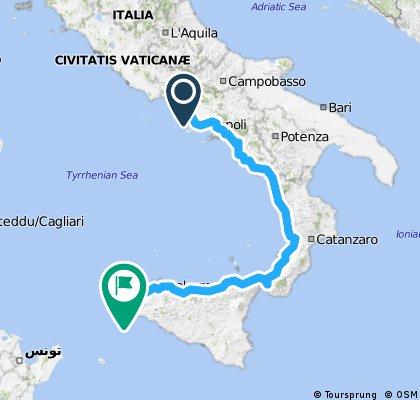 Włochy 2014 część 3 - Marek i Michał
