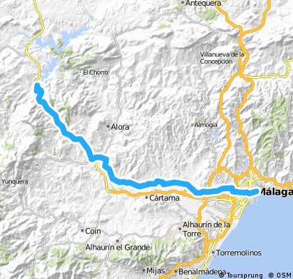 Malaga to Ardales [Day 2]