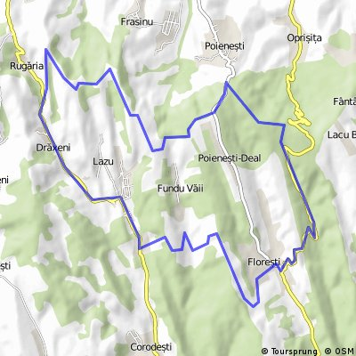 Racova MTB Maraton - traseu semimaraton