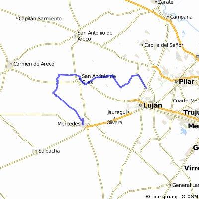 Mercedes, tuneles de Espora, Apeadero Km 108, San Andres de Giles,  Open Door