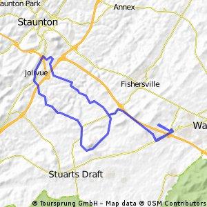 Waynesboro Frankinbike route