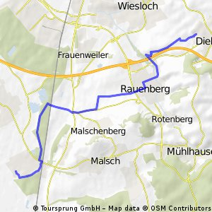 Dielheim zur SAP in Rot