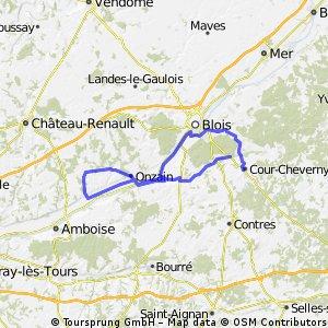 parcours commun du 10 aout 87 kms