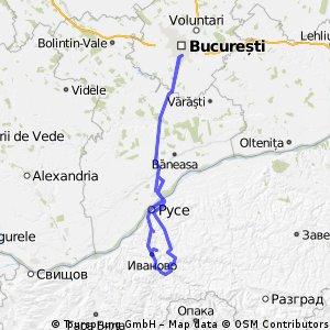 Circuit Bucuresti - Russenski Lom