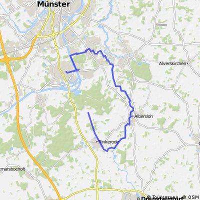 Teil 2 Hiltrup - Kanal - Werse - Hiltrup