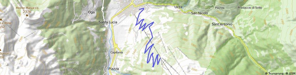 Climb n° 6: BORMIO-bormio 2000