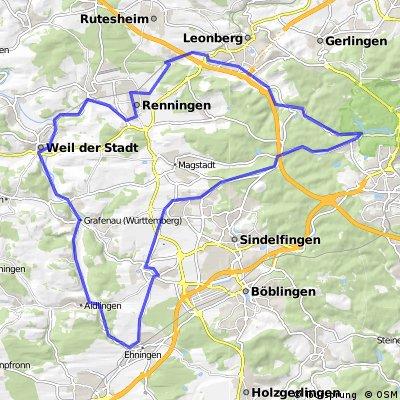 Stuttgart - Weil der Stadt - Stuttgart