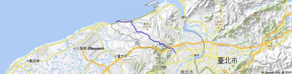 [八里區]西濱林口發電廠接106縣道