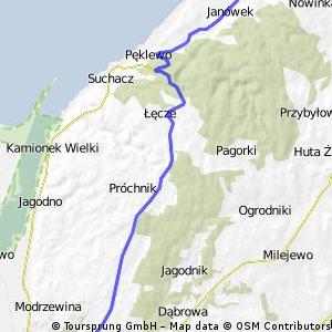 Wycieczka do Piasków przez Zalew