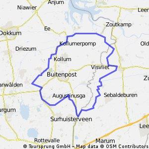 Kootstertille - Pieterzijl, mei 2014