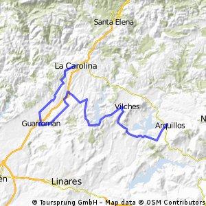 ETAPA 6: Arquillos - La Carolina