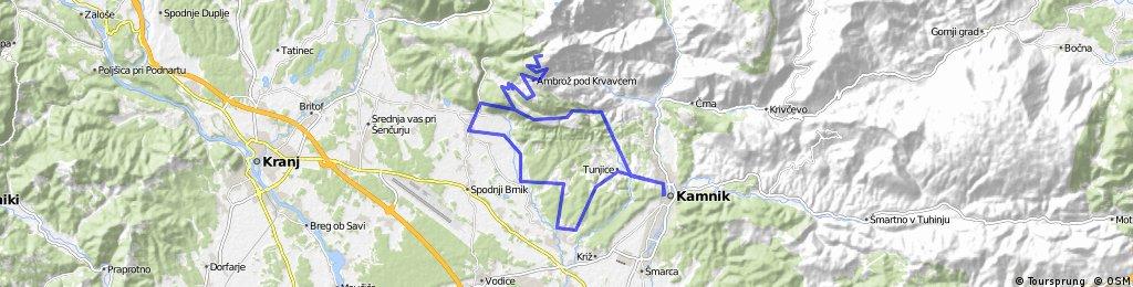 Kamnik - Krvavec - Grad - Kamnik