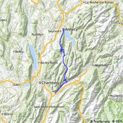 Rhone-Alpes: Etappe 6