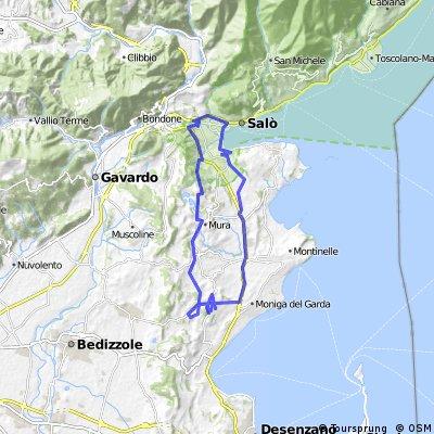 Gardasee - Westseite - 2009