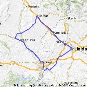 Alcolea Ontiñena Fraga Lleida
